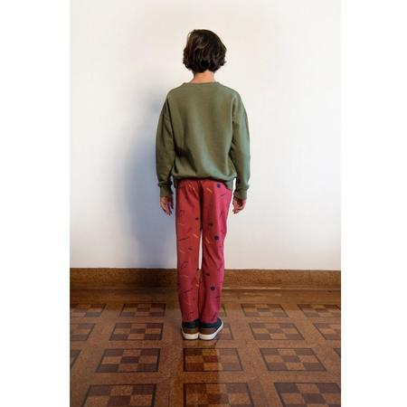 kids barn of monkeys imagine trousers - rouge