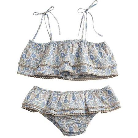 Kids belle enfant ruffle bikini set - liberty d'anjo