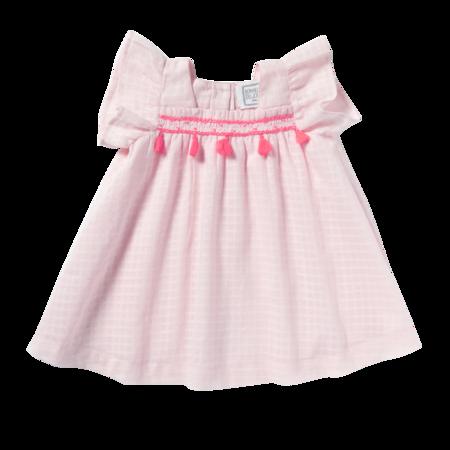 kids bonheur du jour iris dress - pink