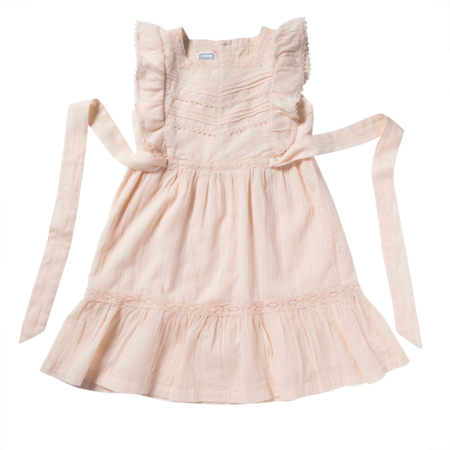 kids bonheur du jour louisiane dress - pink
