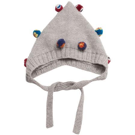 Kids Cabbages & Kings Alpaca Bonnet - Grey