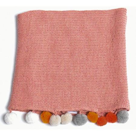 Kids Cabbages & Kings Double Wrap Infinity Scarf - Pink