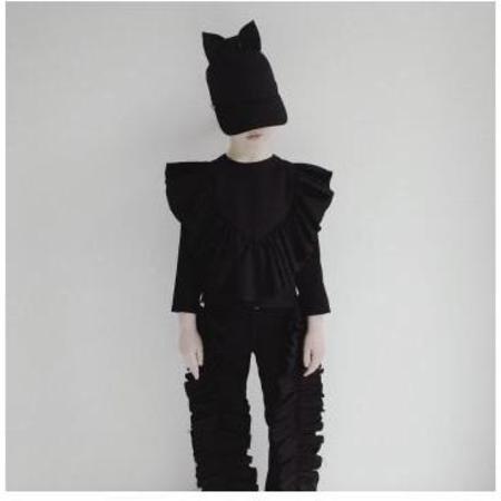 kids caroline bosmans face the future blouse - black