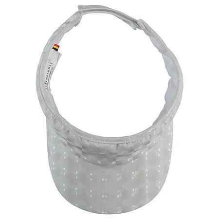 KIDS caroline bosmans visor - high white