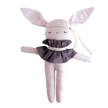 Kids Elliefunday Mademoiselle Lapin Stuffed Bunny - Pink