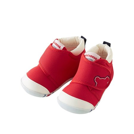 Kids Miki House My First Shoes - Red