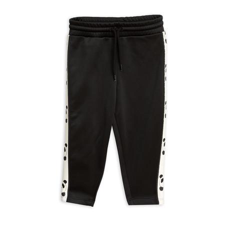 Kids Mini Rodini Panda WCT Pants - Black