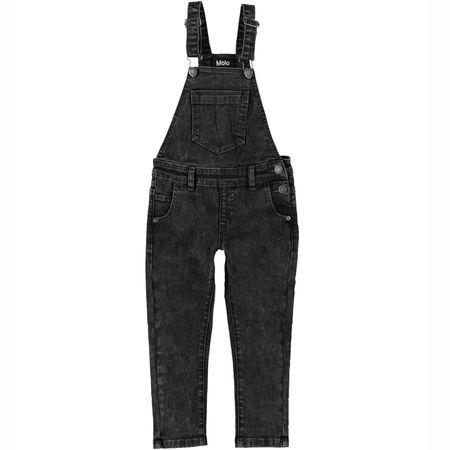 Kids Molo Alika Overall - Stone Washed Black