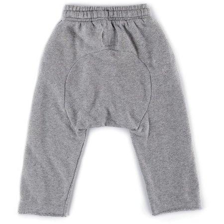 KIDS nununu raw pants - heather grey