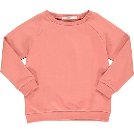 kids popupshop sweatshirt - faded rose
