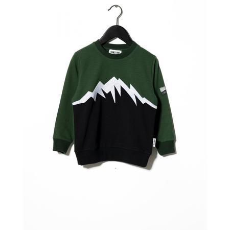 Kids Sometime Soon Summit Crewneck - Black