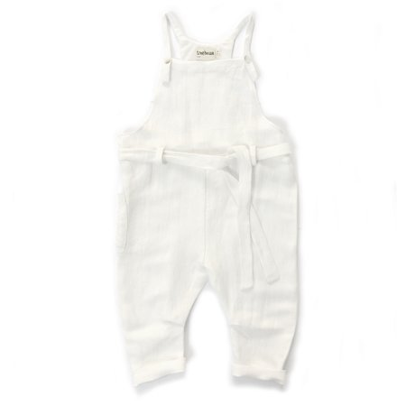 Kids Treehouse Ludoni Muse Playsuit - White