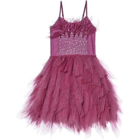 Kids TUTU DU MONDE Queen of the Vines Tutu Dress - Blackberry