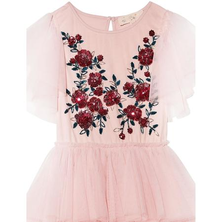 Kids TUTU DU MONDE Ruby Roses Tutu Dress - Porcelain Pink