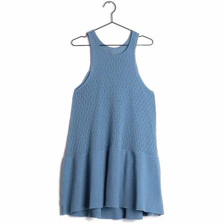 kids wolf & rita andreia dress - pale blue