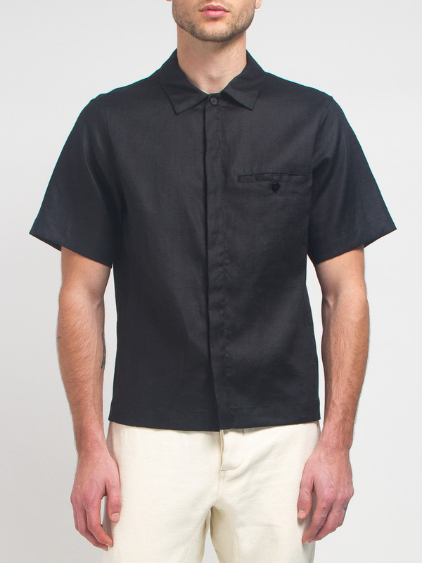 Men's Fanmail Uniform Shirt Black