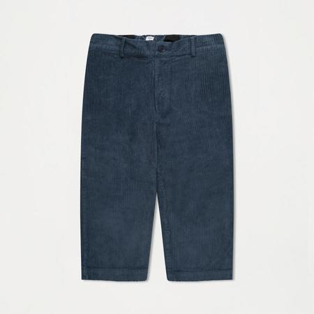Kids Repose AMS Cord Trousers - Mid Stone Blue