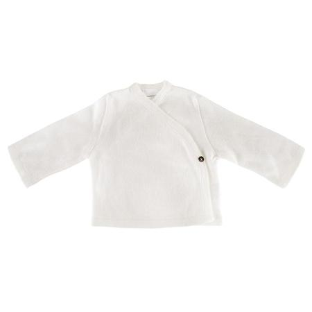 Kids Pequeno Tocon Baby Kimono Close Jacket - Natural Cream