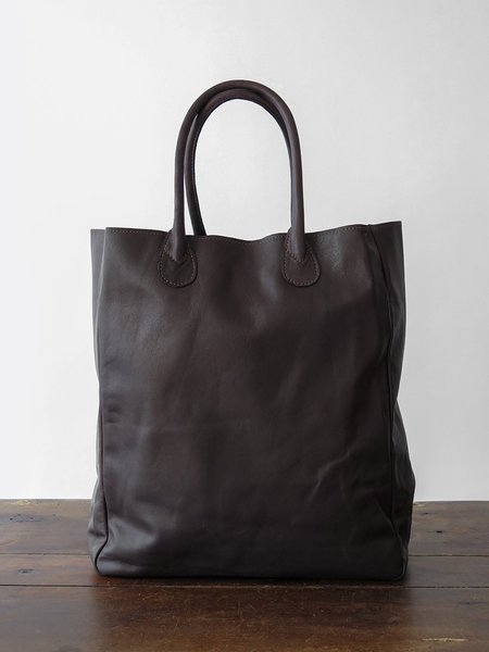 ET Leather (Albert) eve tote - chocolate
