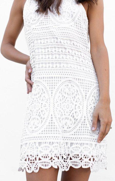 BISHOP & YOUNG Crochet Dress - White