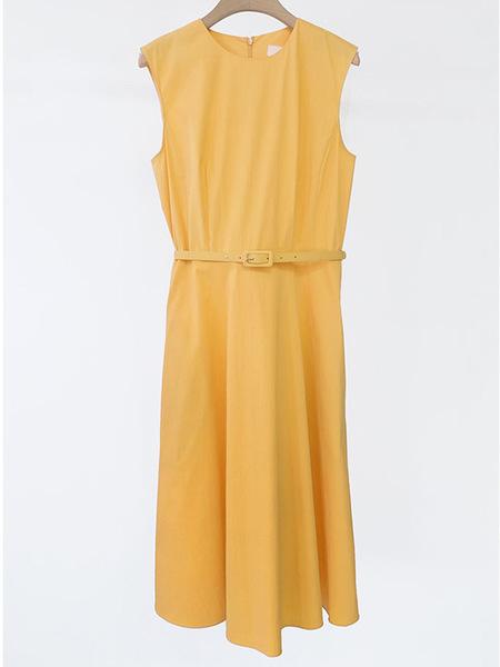 ANGELO BIANCO Round Dress