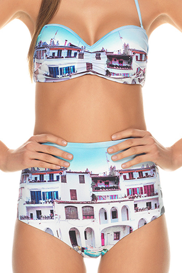 Estivo Puerto High Waisted Two Piece BOTTOMS