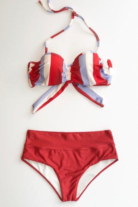 Estivo w Salua Cupped Bikini Top - Multi Stripes