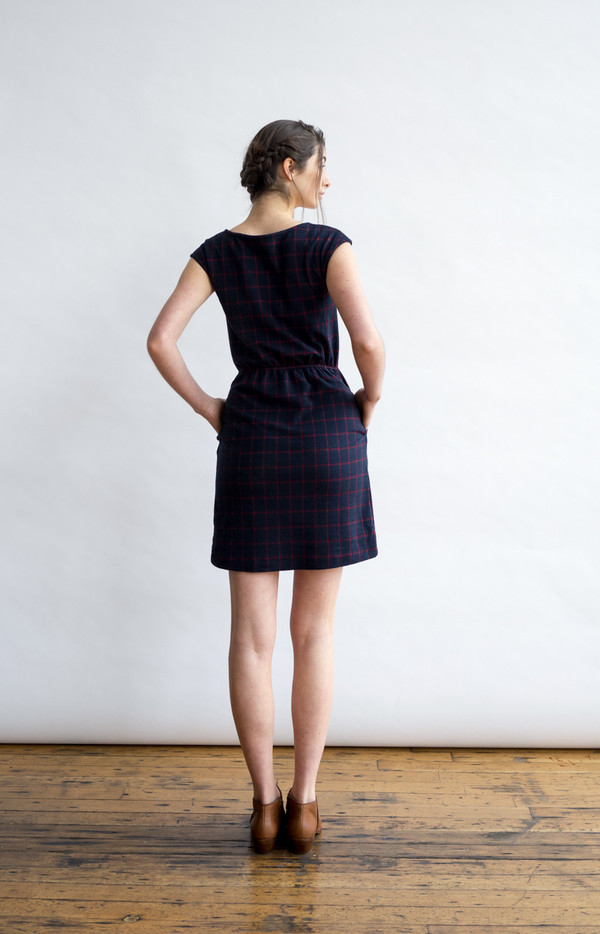 Bridge & Burn Morgan Plaid Dress