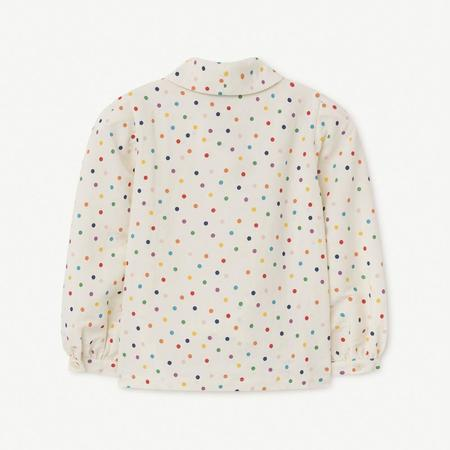 Kids The Animals Observatory Dots Gadfly Blouse - Raw White Dots