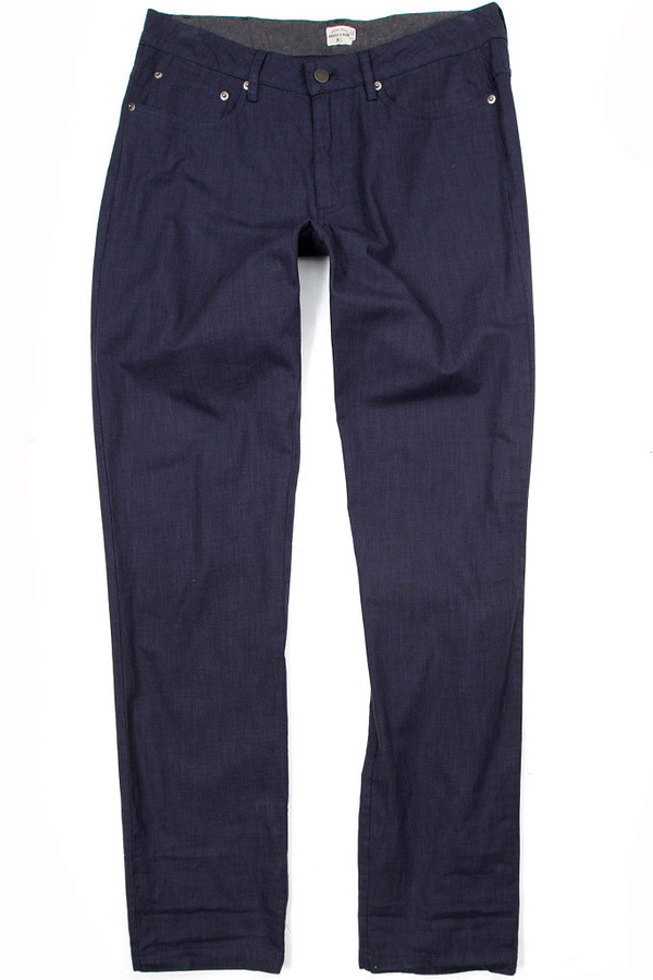 Men's Bridge & Burn Polk Navy Linen