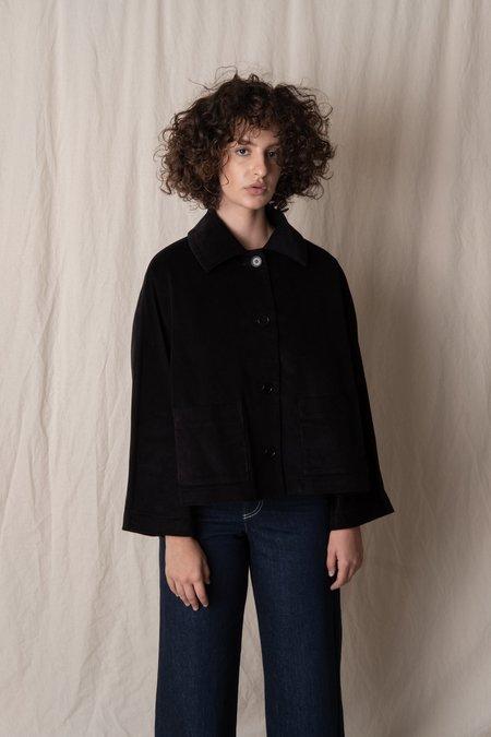 CAWLEY STUDIO AVIS CORD JACKET - black