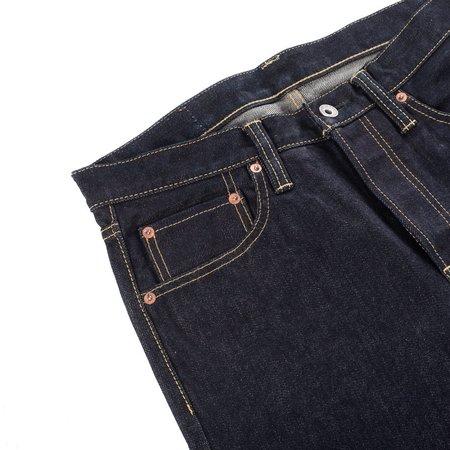 Iron Heart Slim Straight Jeans - Dark Wash