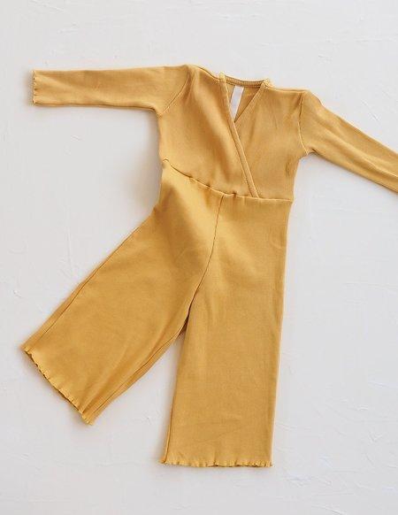 Kids Millk Weekender Pantsuit - Golden Yellow