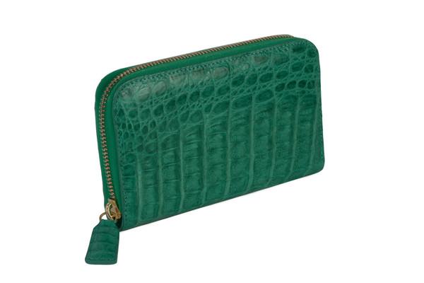 MAPA Collective The Mini Zipper Wallet (Crocodile)