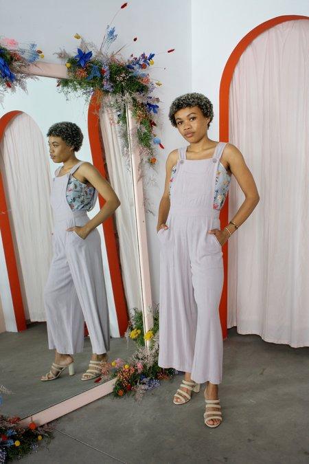Rachel Pally Linen Kit Overalls - Wisteria