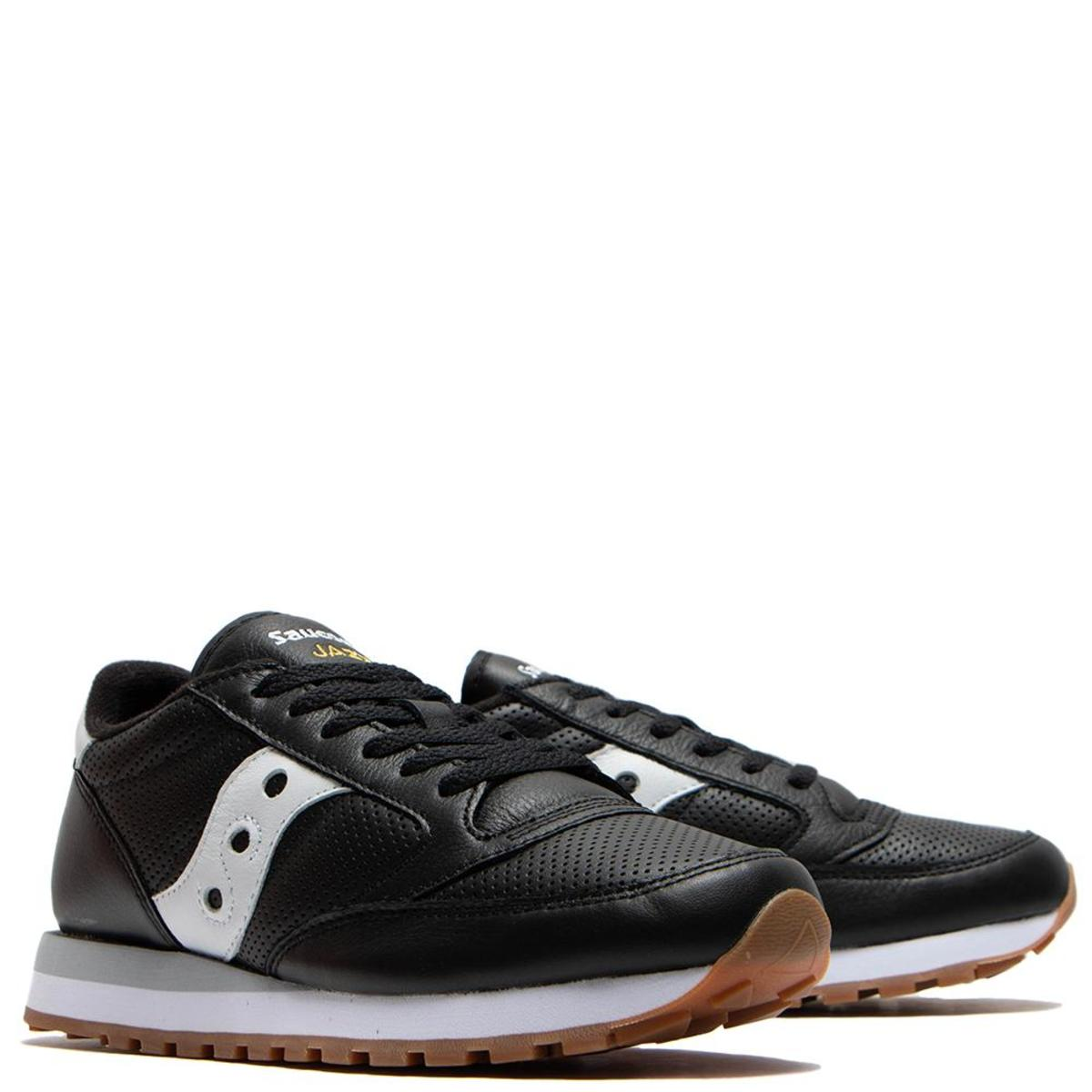 detailed look e3da6 a3b37 Saucony Jazz Original Leather - Black