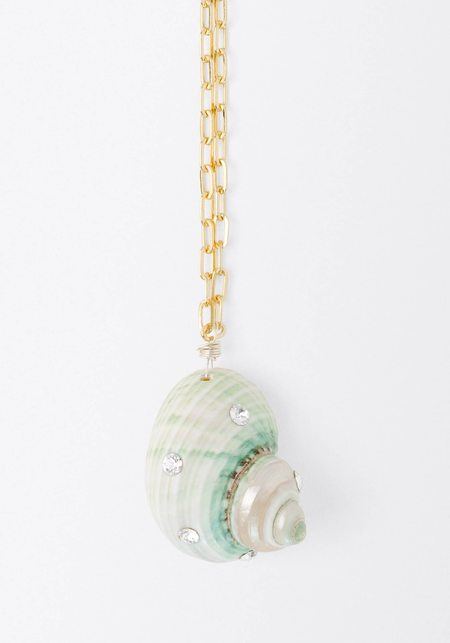 WALD BERLIN Wald Paris Paris Single Shell Necklace