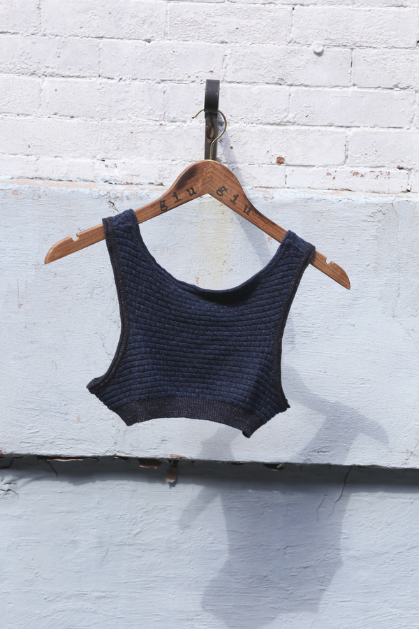 giu giu Molly Indigo Sports Bra