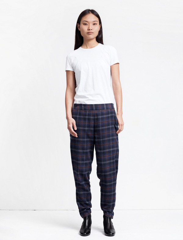 Thakoon Addition Flannel Side Zip Pant