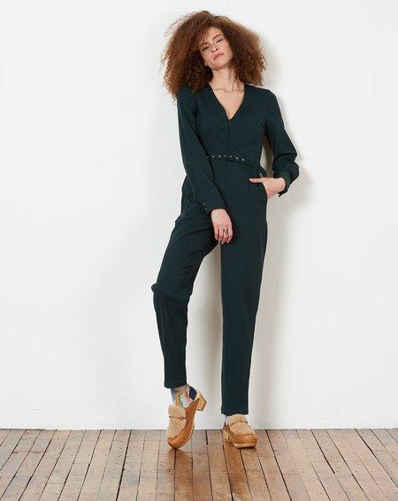 Rachel Comey Fame Jumpsuit - Dark Juniper