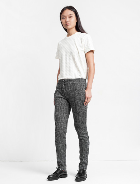 Thakoon Addition Slim Pant - Black/White