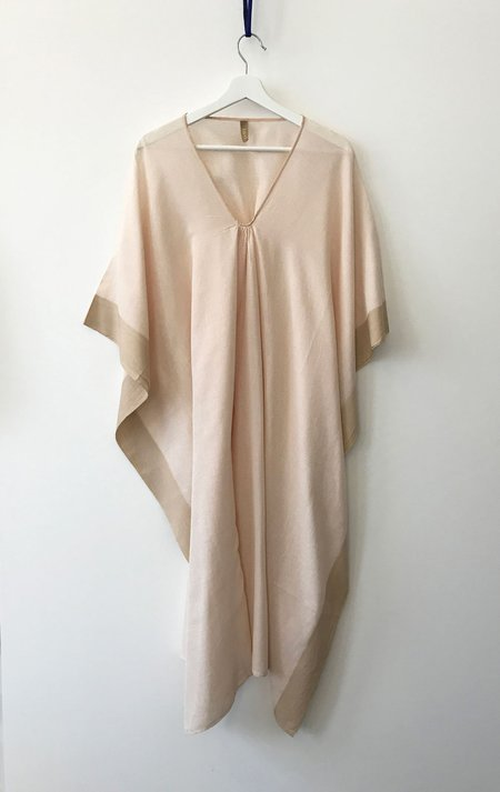Two one of a kind caftan - Peach
