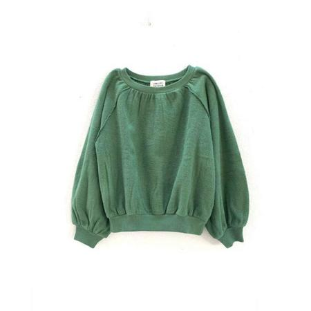 Kids Long Live the Queen Blouson Sleeve Sweatshirt - Green