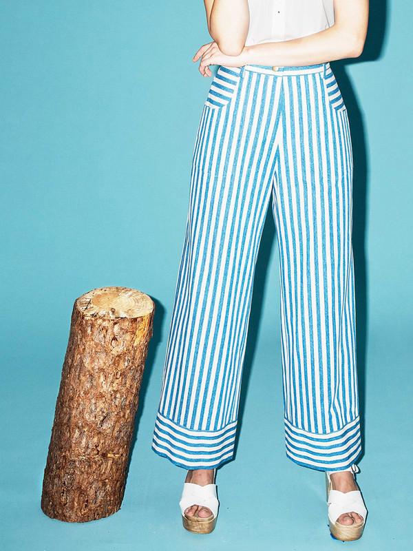 Rachel Antonoff Capi Crop Flare Pant