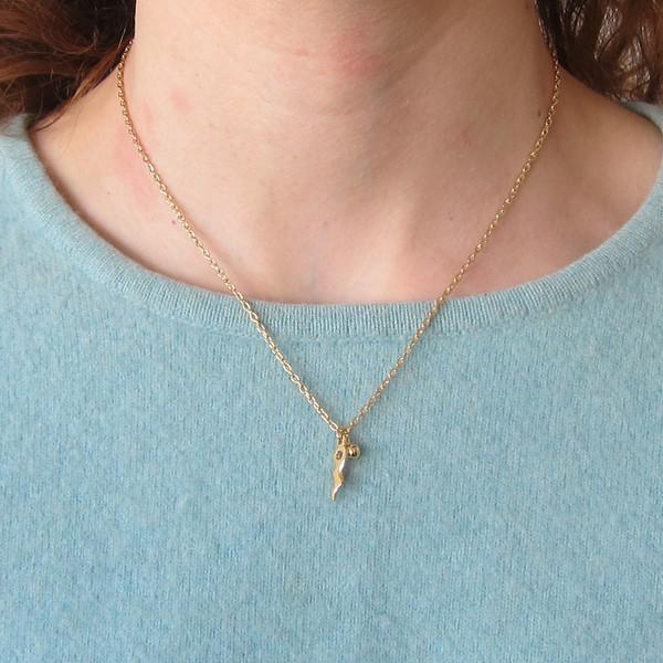Alynne Lavigne Chili Charm Necklace