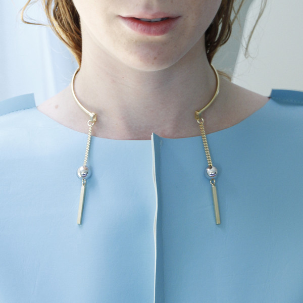 ALYNNE LAVIGNE - Double Tassel Collar