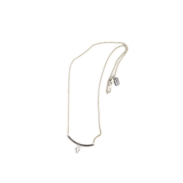 Alynne Lavigne Triangle Bar Necklace