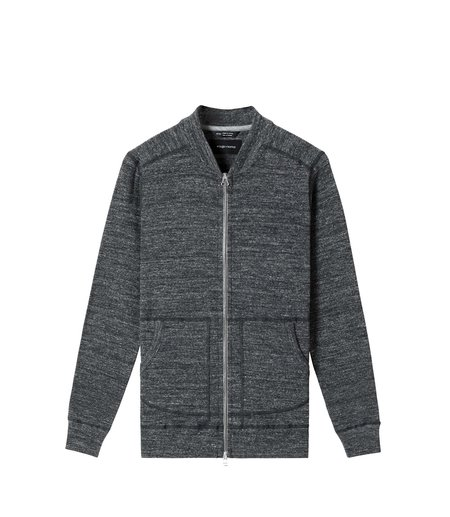 Wings+Horns 1x1 Slub Bomber - M. Black