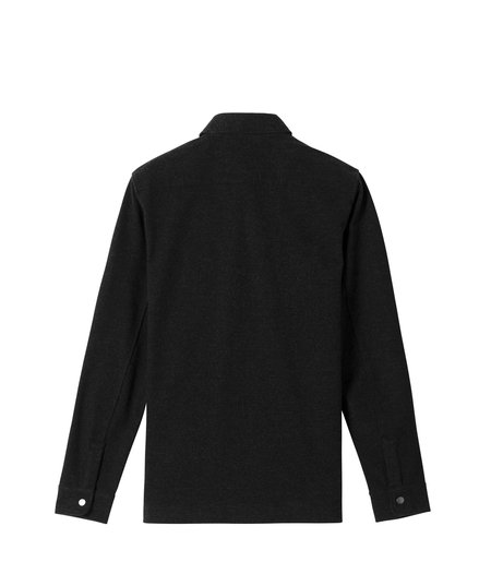Wings+Horns Stretch Twill CPO Jacket - Black