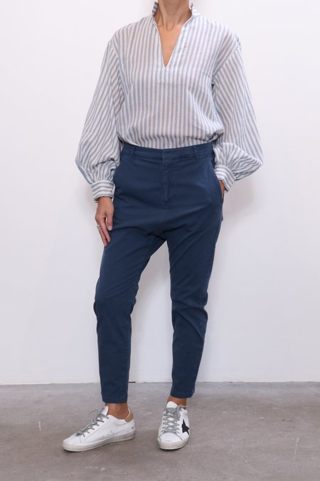 Nili Lotan Paris Pant - Vintage Blue